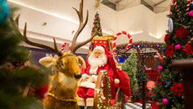 Por conta da pandemia, não haverá a presença física do Papai Noel este ano / Foto: Divulgação
