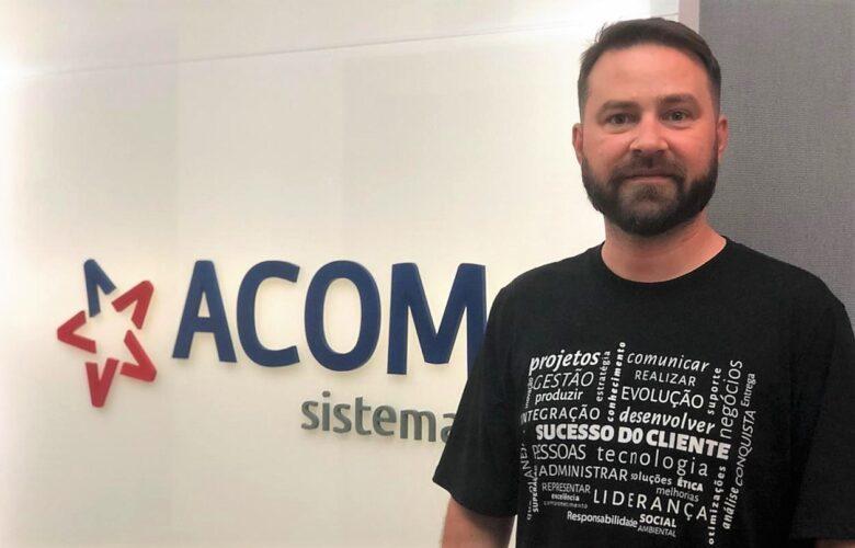 Divulgação Eduardo Ferreira, CCO da ACOM Sistemas